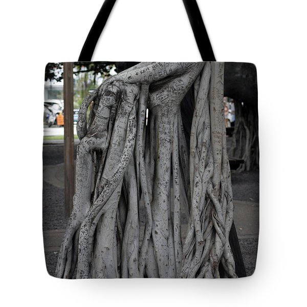 Banyan Tree, Maui Tote Bag