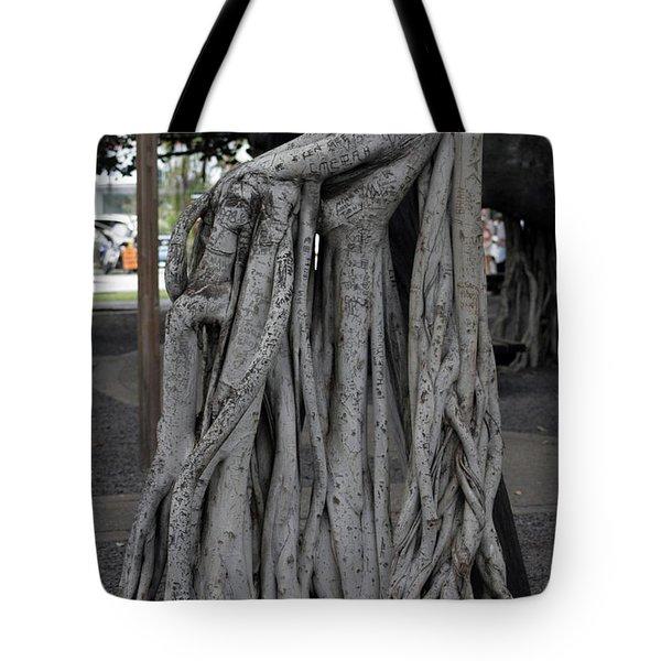 Banyan Tree, Maui Tote Bag