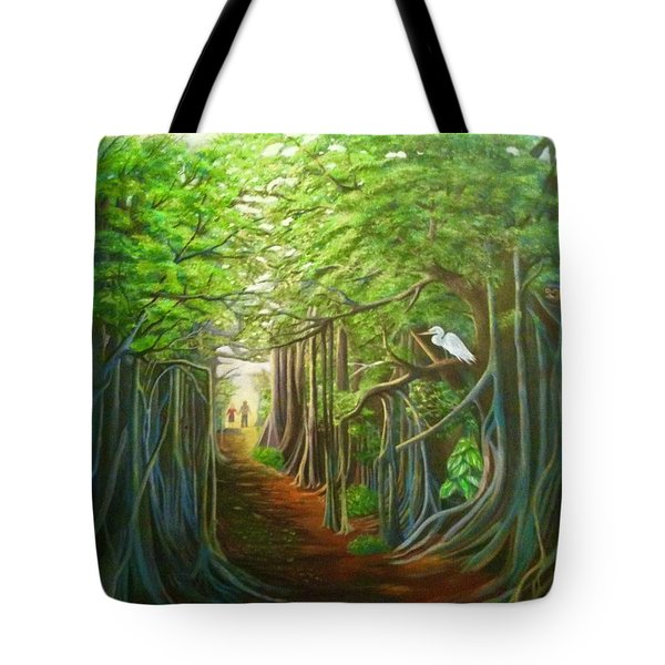 Banyon Walk Tote Bag