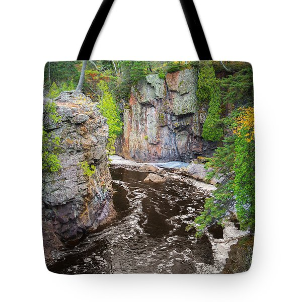 Baptism River In Tettegouche State Park Mn Tote Bag