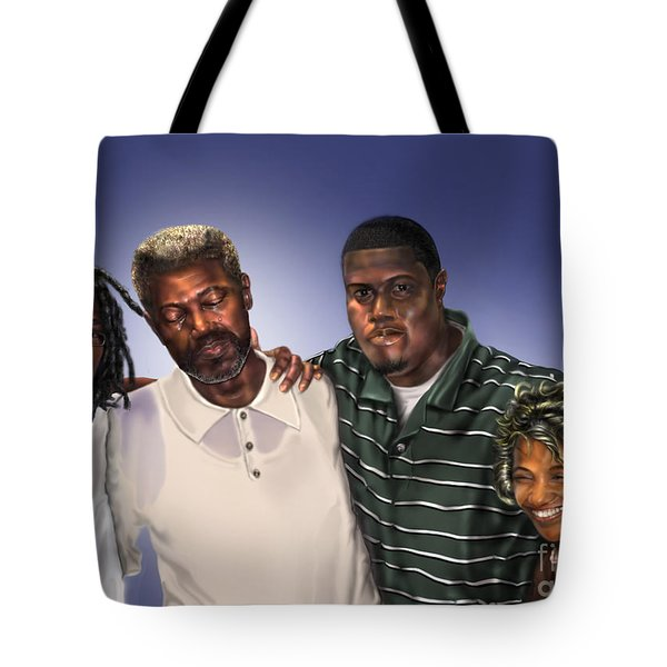 Baptized In His Glory Tote Bag by Reggie Duffie