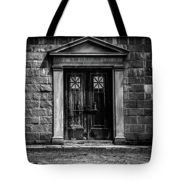 Bar Across The Door Tote Bag