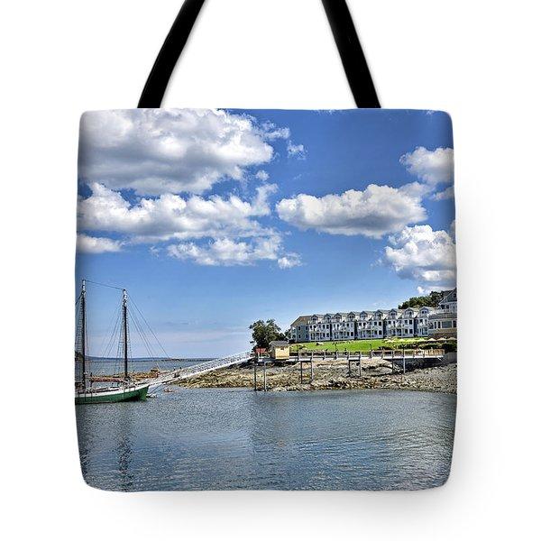 Bar Harbor Inn - Maine Tote Bag