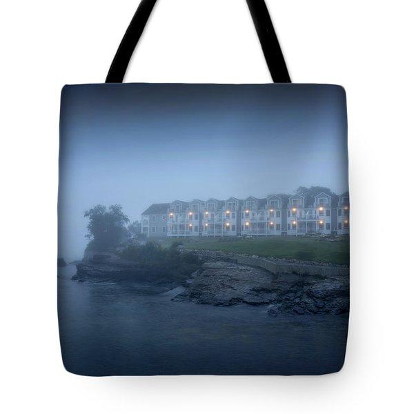 Bar Harbor Inn - Stormy Night Tote Bag