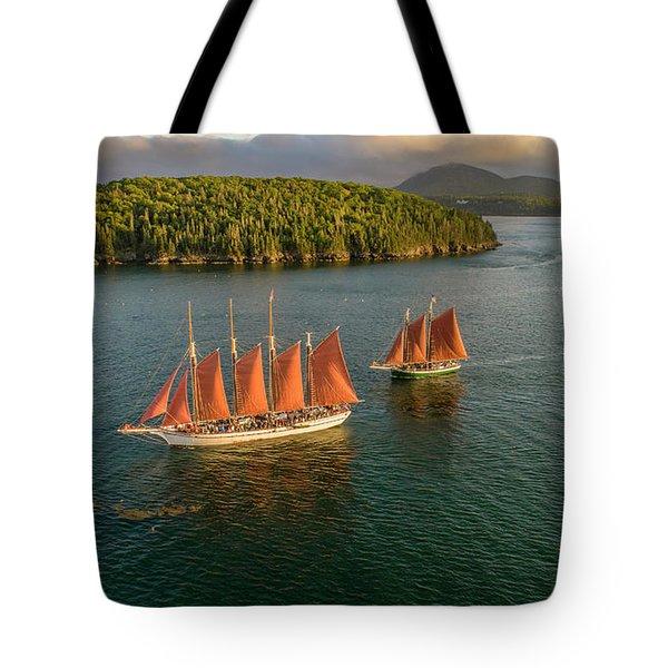 Sailing Thru Life The Downeast Way Tote Bag