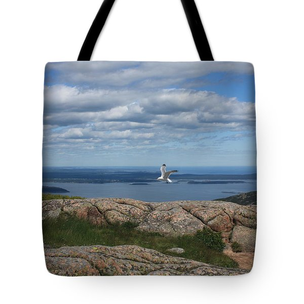 Bar Harbor View From Cadillac Tote Bag