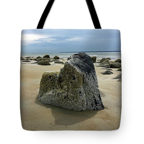 Bar Head Rocks Tote Bag