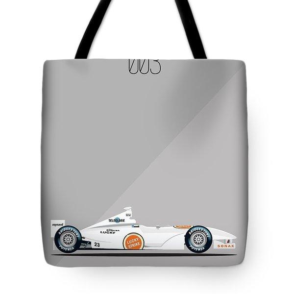 Bar Honda 003 F1 Poster Tote Bag