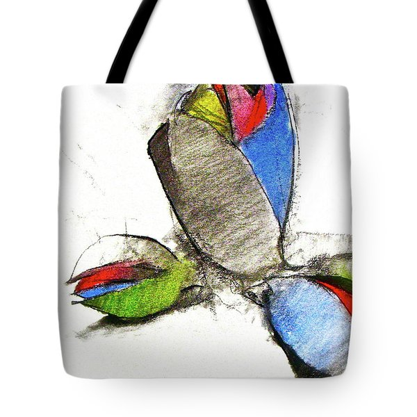 Tote Bag featuring the drawing Bar Nickle  by Cliff Spohn