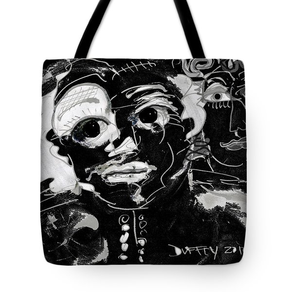 Bar Scene Tote Bag