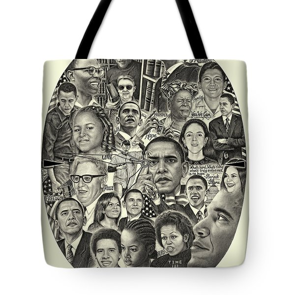 Barack Obama- Time For Change Tote Bag
