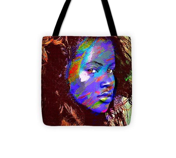 Barbados Woman Tote Bag by Philip Gresham