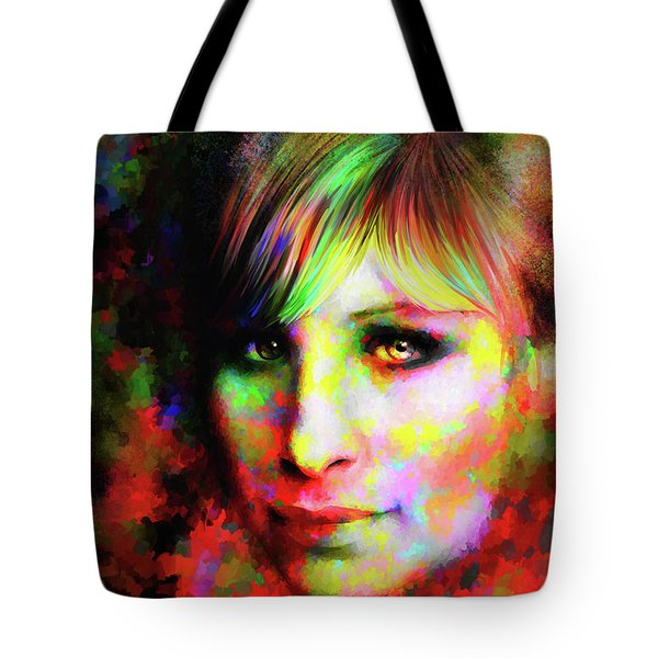 Barbara Streisand Tote Bag