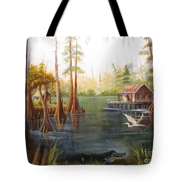 Barbara's Bayou II Tote Bag