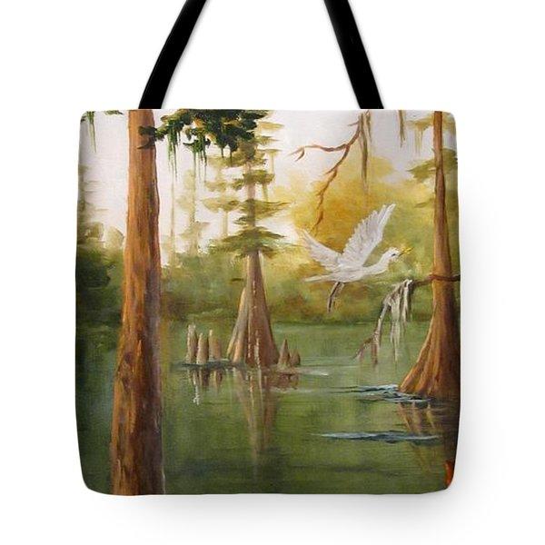 Barbara's Bayou IIi Tote Bag