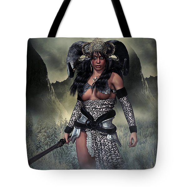 Barbarian Queen Tote Bag