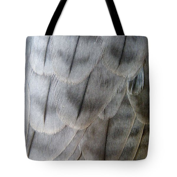 Barbary Falcon Feathers Tote Bag