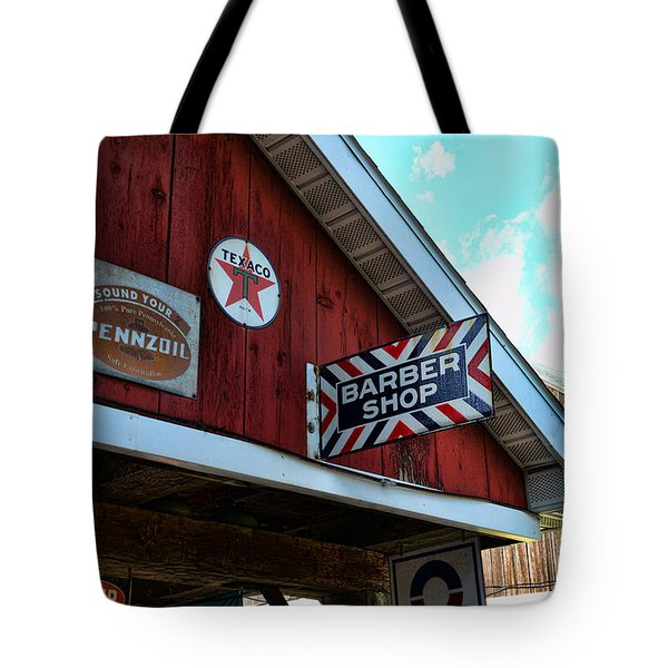 Barber - Old Barber Shop Sign Tote Bag by Paul Ward