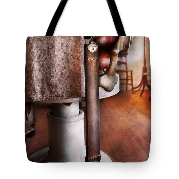 Barber - The Strop Tote Bag by Mike Savad