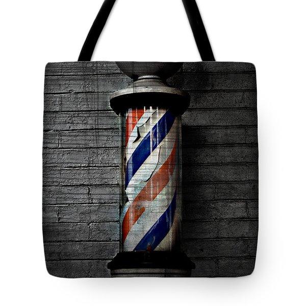 Barber Pole Blues  Tote Bag