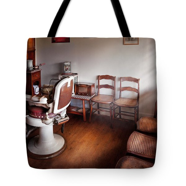 Barber - Ready For An Audience Tote Bag
