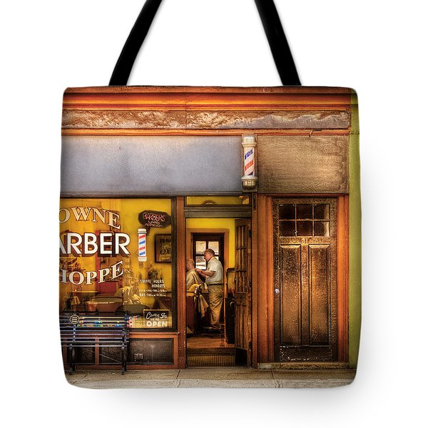 Barber - Towne Barber Shop Tote Bag