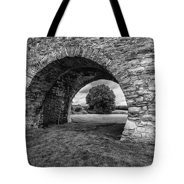Barbican Gate Trim Castle Tote Bag