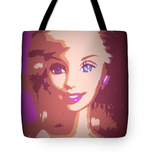 Barbie Hip To Be Square Tote Bag