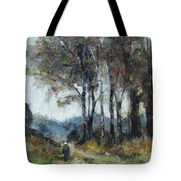 Barbizon Road Tote Bag by Debora Cardaci
