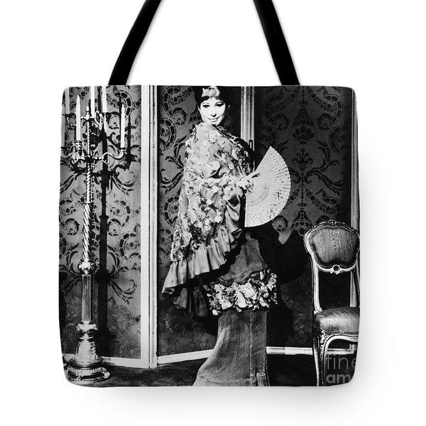 Barbra Streisand (1942- ) Tote Bag by Granger