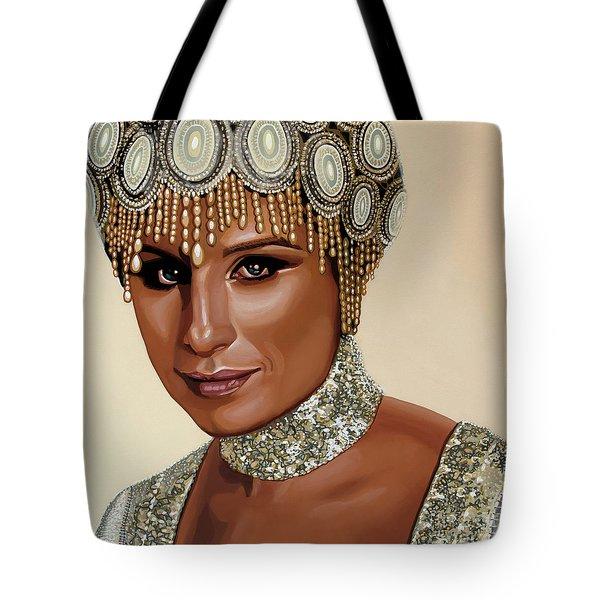 Barbra Streisand 2 Tote Bag by Paul Meijering