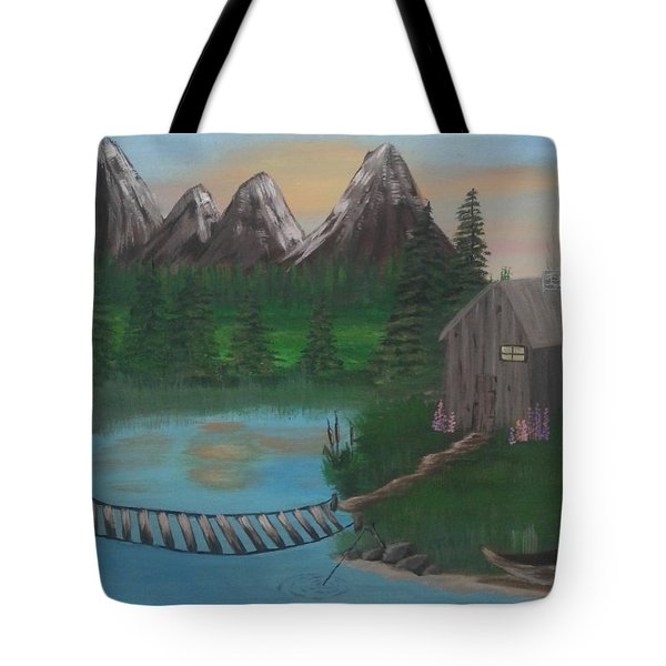 Barbs Place Tote Bag