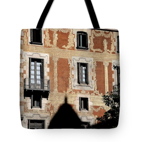 Tote Bag featuring the photograph Barcelona 3 by Andrew Fare