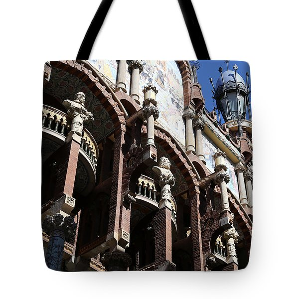 Tote Bag featuring the photograph Barcelona 4 by Andrew Fare