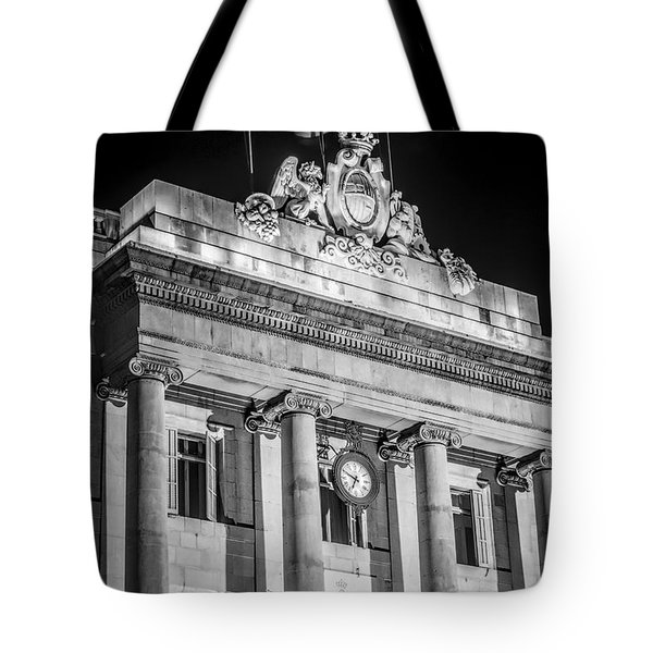 Barcelona City Hall Tote Bag