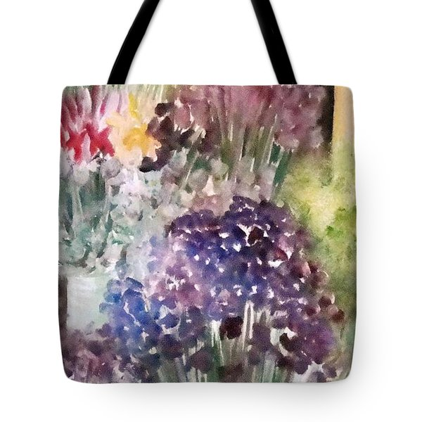 Barcelona Flower Mart Tote Bag