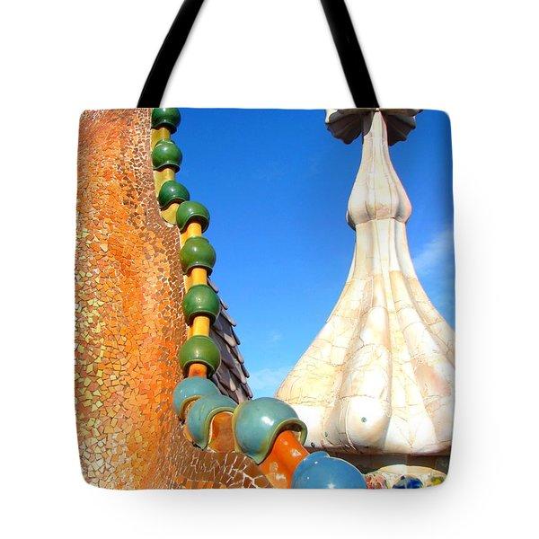 Barcelona Impression 1 Tote Bag by Ana Maria Edulescu