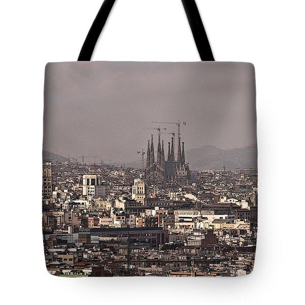 Barcelona Tote Bag by Steven Sparks