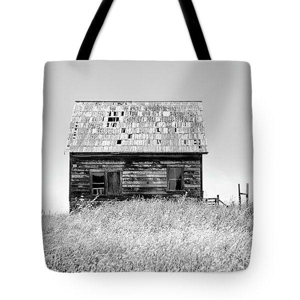 Bare All In Black And White Tote Bag