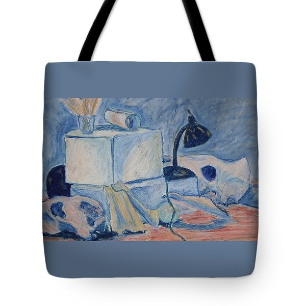 Bare Bones Tote Bag by Jean Haynes