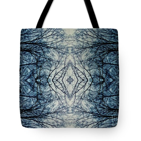 Bare Branch Connection Tote Bag