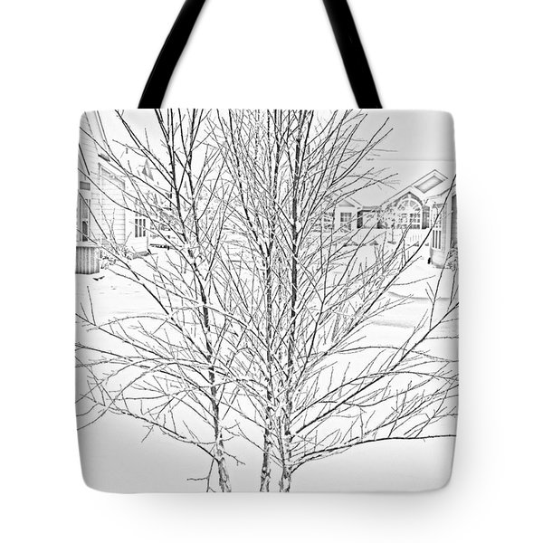 Bare Naked Tree Tote Bag