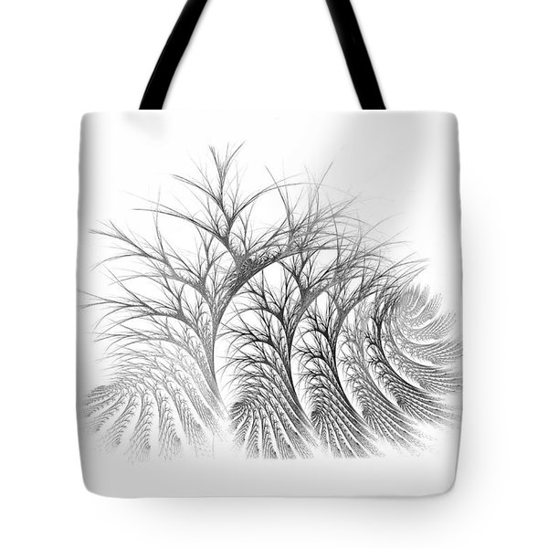 Bare Trees Daylight Tote Bag