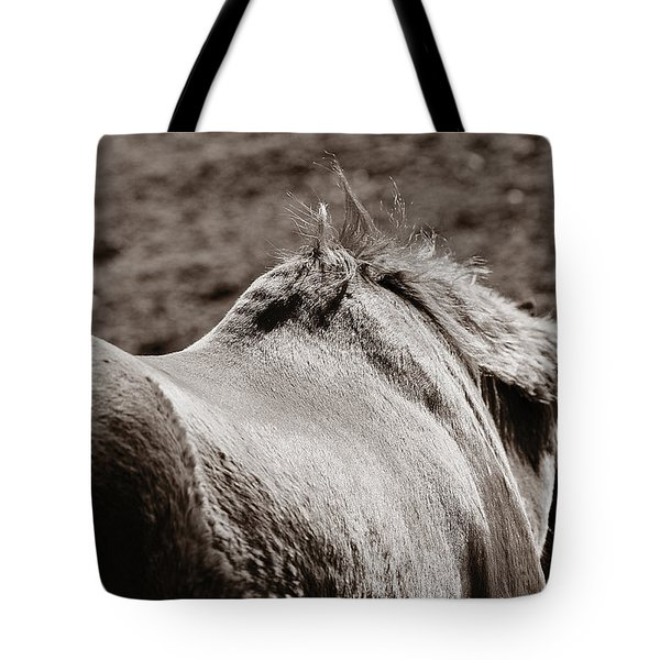 Tote Bag featuring the photograph Bareback by Angela Rath