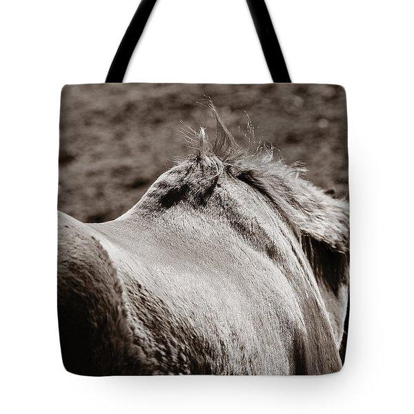 Bareback Tote Bag by Angela Rath