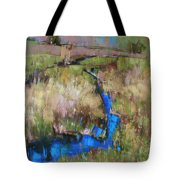 Barefoot In The Dew  Tote Bag