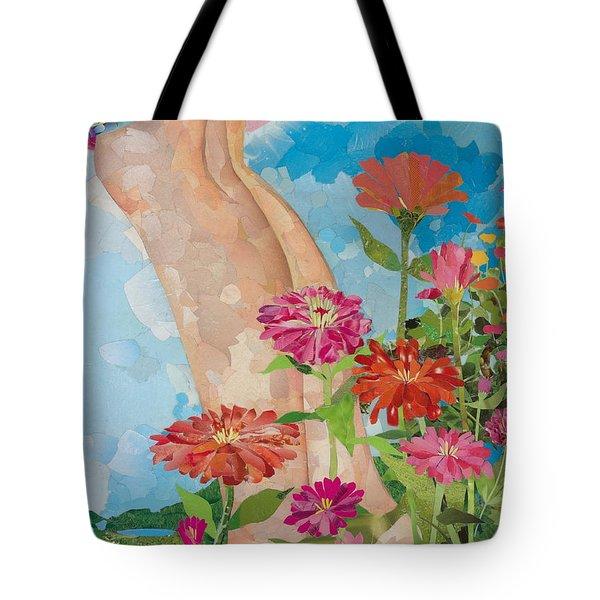 Barefoot Tote Bag