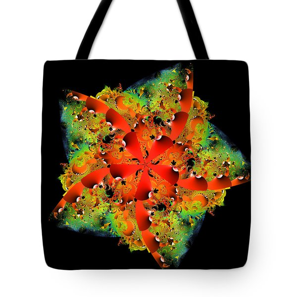 Tote Bag featuring the digital art Barimperrh by Andrew Kotlinski