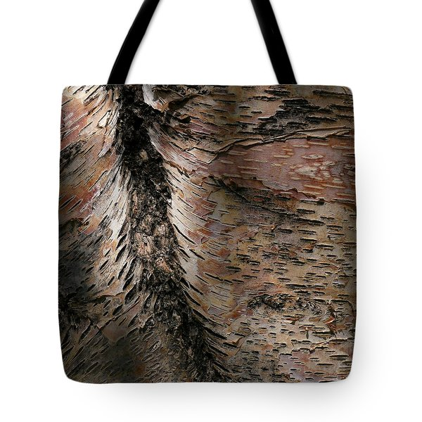 Tote Bag featuring the photograph Bark At Woodstream Village by Dutch Bieber