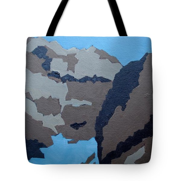 Barker Dam Abstract Tote Bag